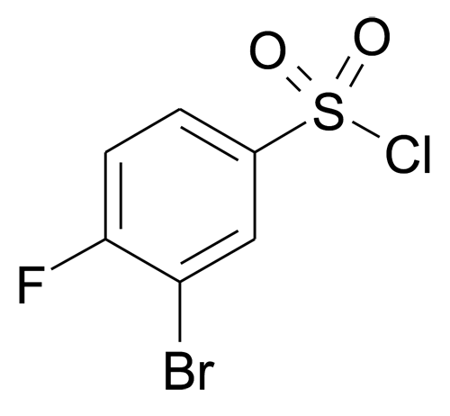3-Bromo-4-fluoro-benzenesulfonyl chloride