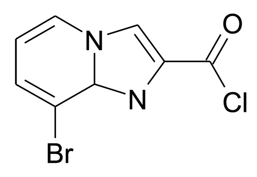 8-Bromo-1,8a-dihydro-imidazo[1,2-a]pyridine-2-carbonyl chloride