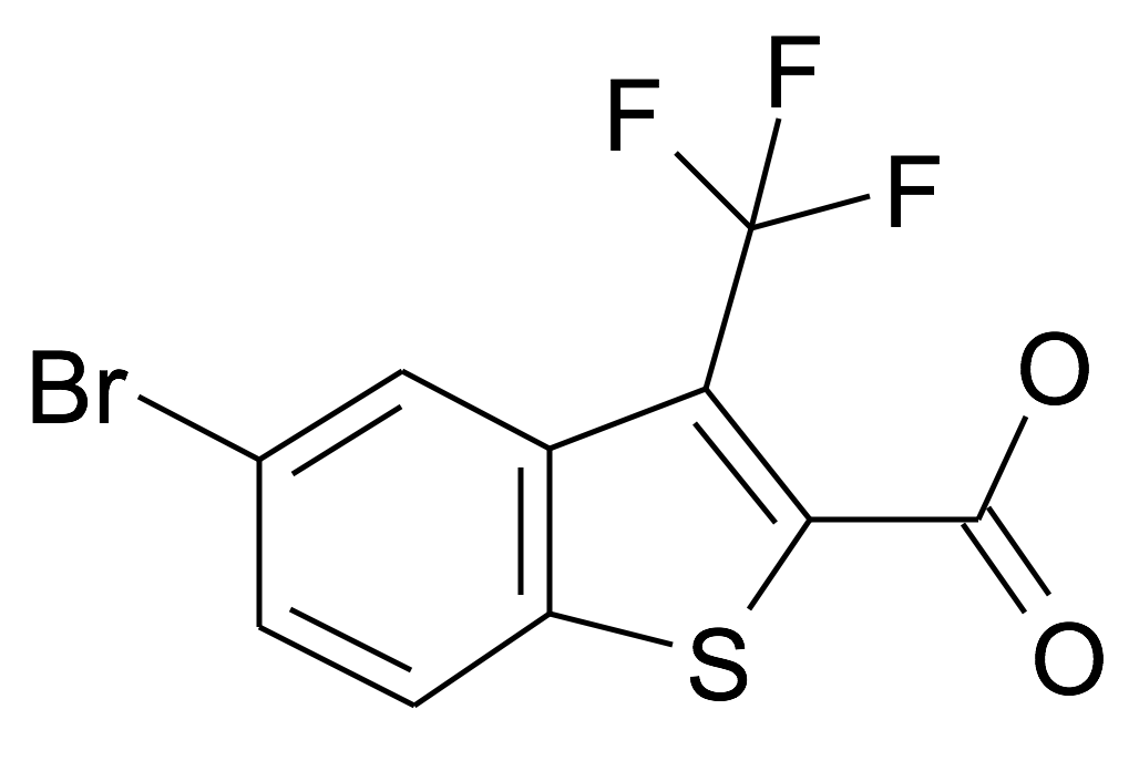 5-Bromo-3-trifluoromethyl-benzo[b]thiophene-2-carboxylic acid