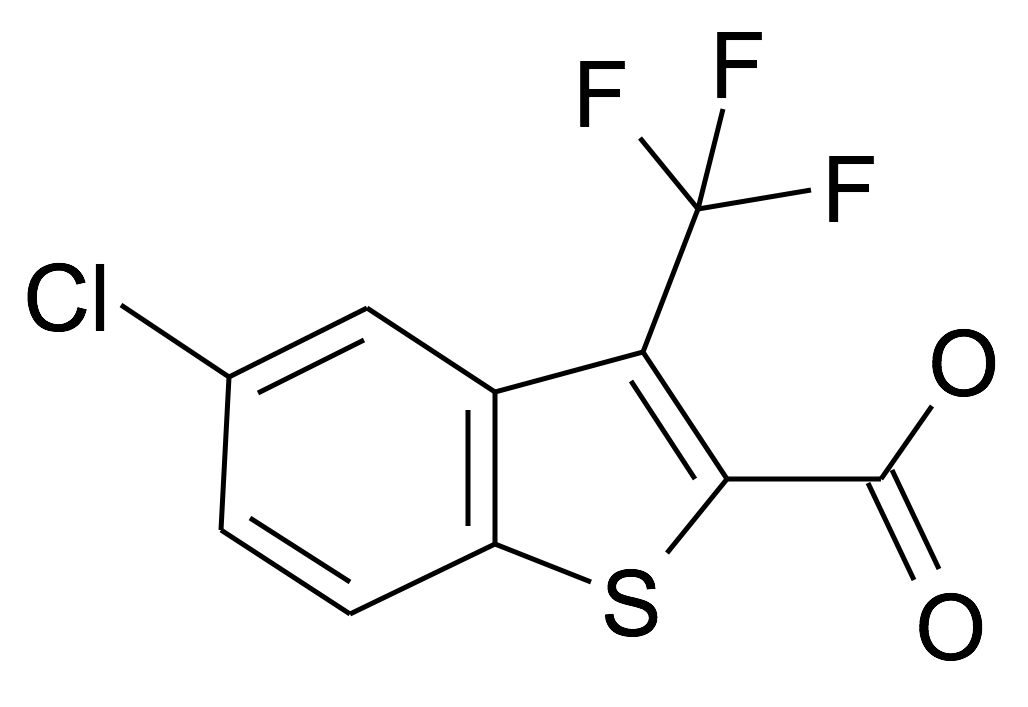 5-Chloro-3-trifluoromethyl-benzo[b]thiophene-2-carboxylic acid