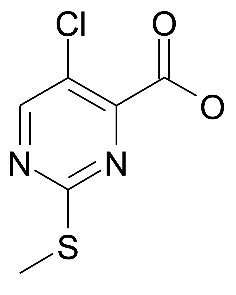 5-Chloro-2-methylsulfanyl-pyrimidine-4-carboxylic acid