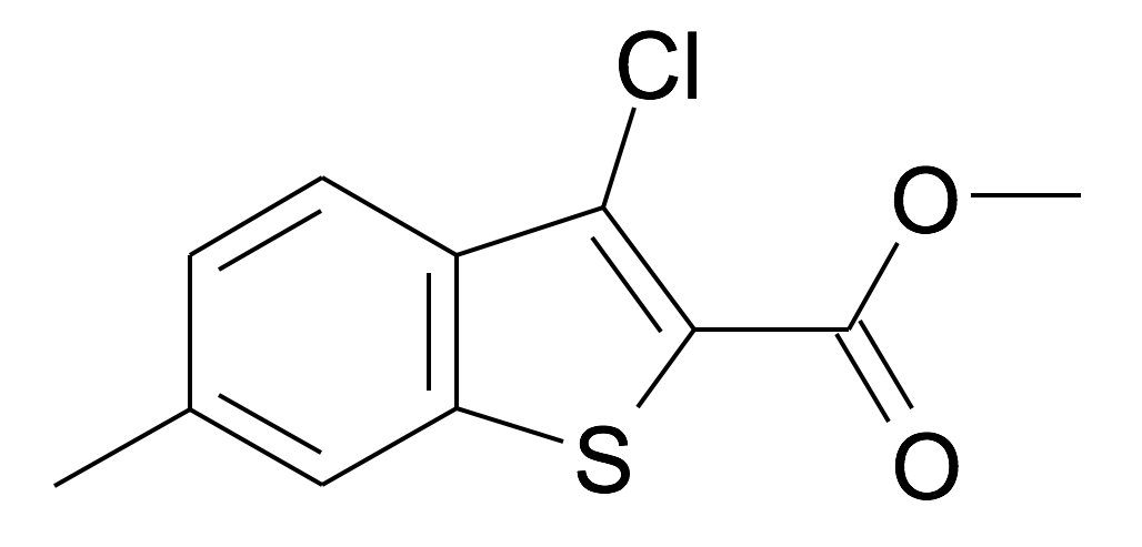 3-Chloro-6-methyl-benzo[b]thiophene-2-carboxylic acid methyl ester