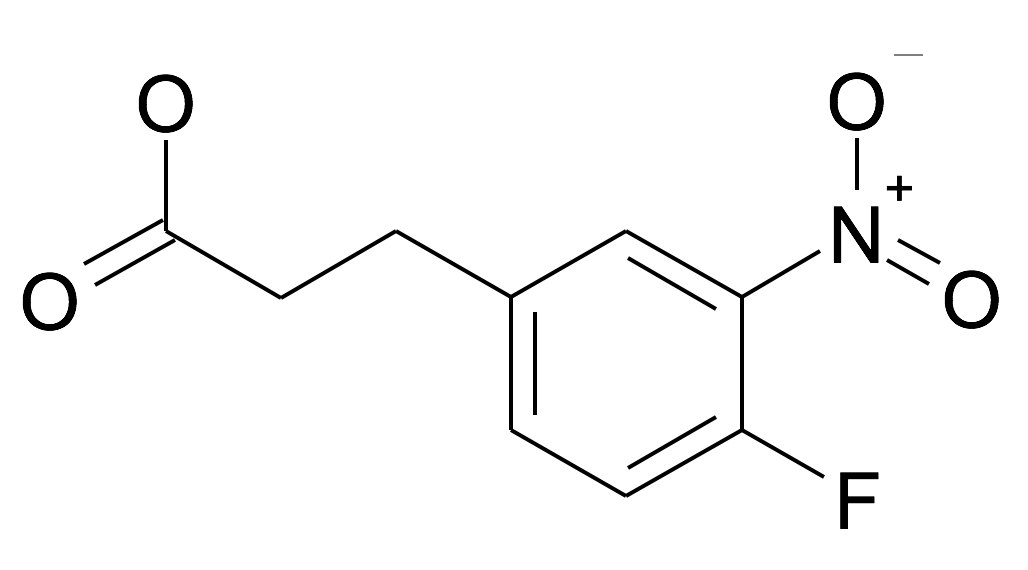3-(4-Fluoro-3-nitro-phenyl)-propionic acid