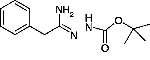 N'-[1-Amino-2-phenylethylidene]hydrazinecarboxylic acid tert-butyl ester