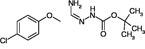 N'-[1-Amino-2-(4-chlorophenoxy)ethylidene]hydrazinecarboxylic acid tert-butyl ester