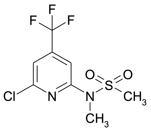 N-(6-Chloro-4-(trifluoromethyl)pyridin-2-yl)-N-methylmethanesulfonamide