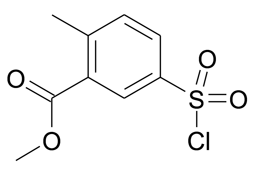 5-Chlorosulfonyl-2-methyl-benzoic acid methyl ester