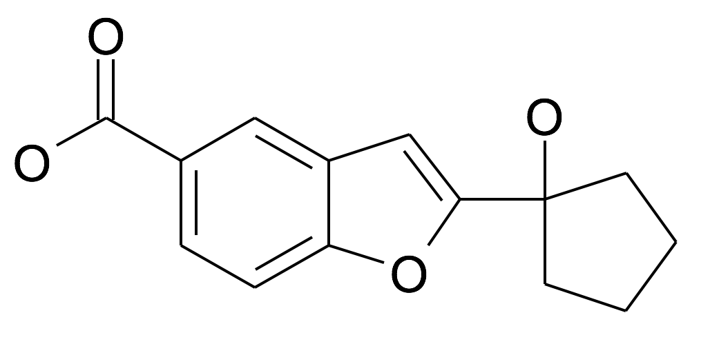1154060-69-1 | MFCD26398014 | 2-(1-Hydroxy-cyclopentyl)-benzofuran-5-carboxylic acid | acints
