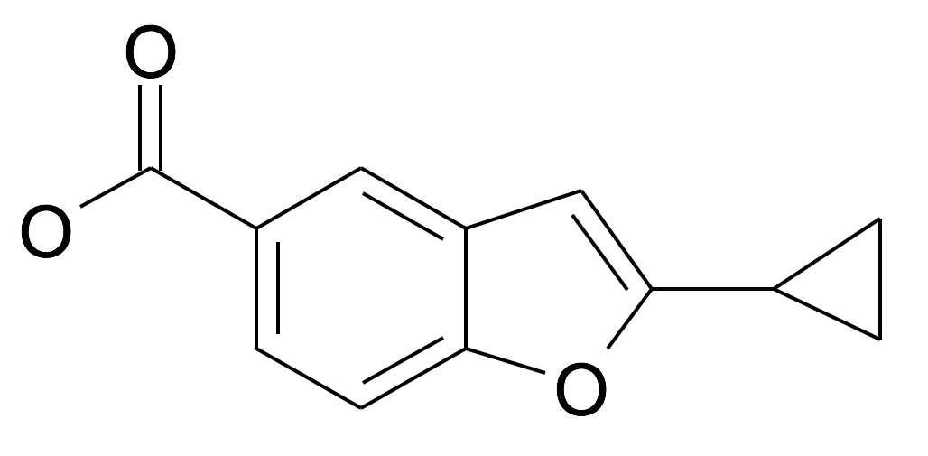 2-Cyclopropyl-benzofuran-5-carboxylic acid