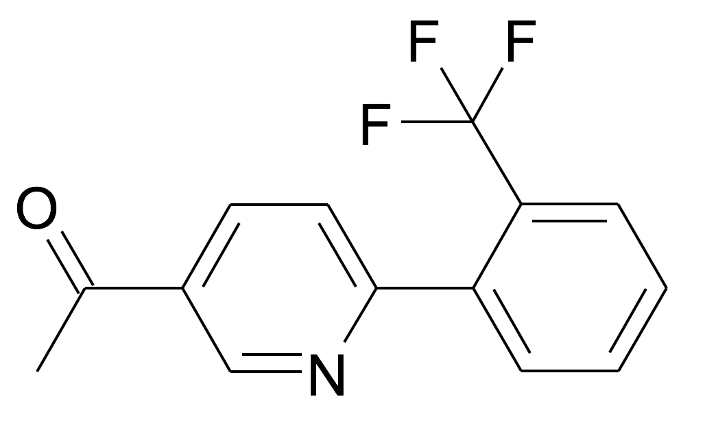 1-[6-(2-Trifluoromethyl-phenyl)-pyridin-3-yl]-ethanone