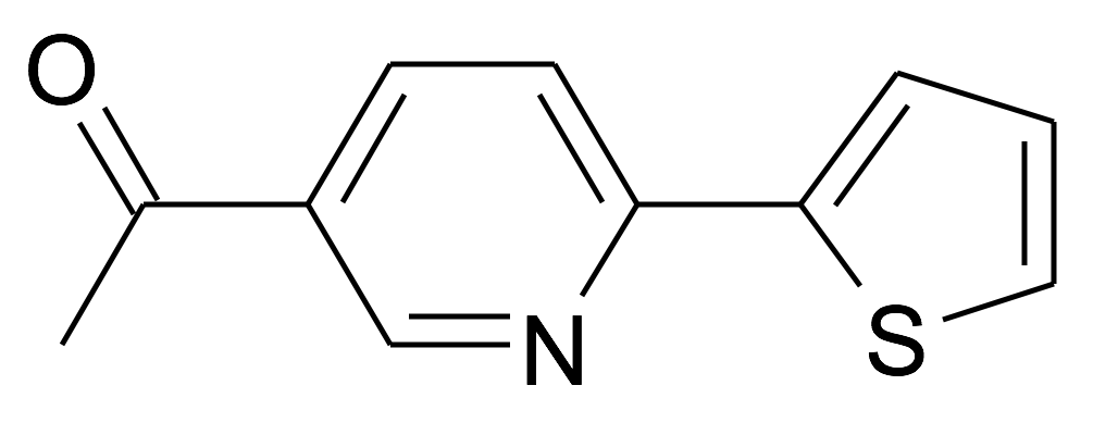 1-(6-Thiophen-2-yl-pyridin-3-yl)-ethanone