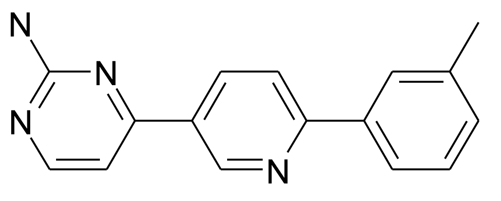 4-(6-m-Tolyl-pyridin-3-yl)-pyrimidin-2-ylamine