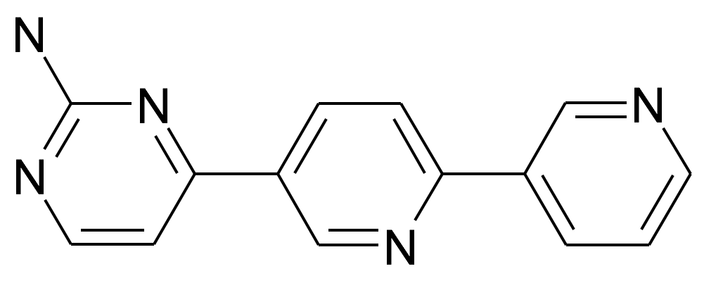 4-[2,3']Bipyridinyl-5-yl-pyrimidin-2-ylamine