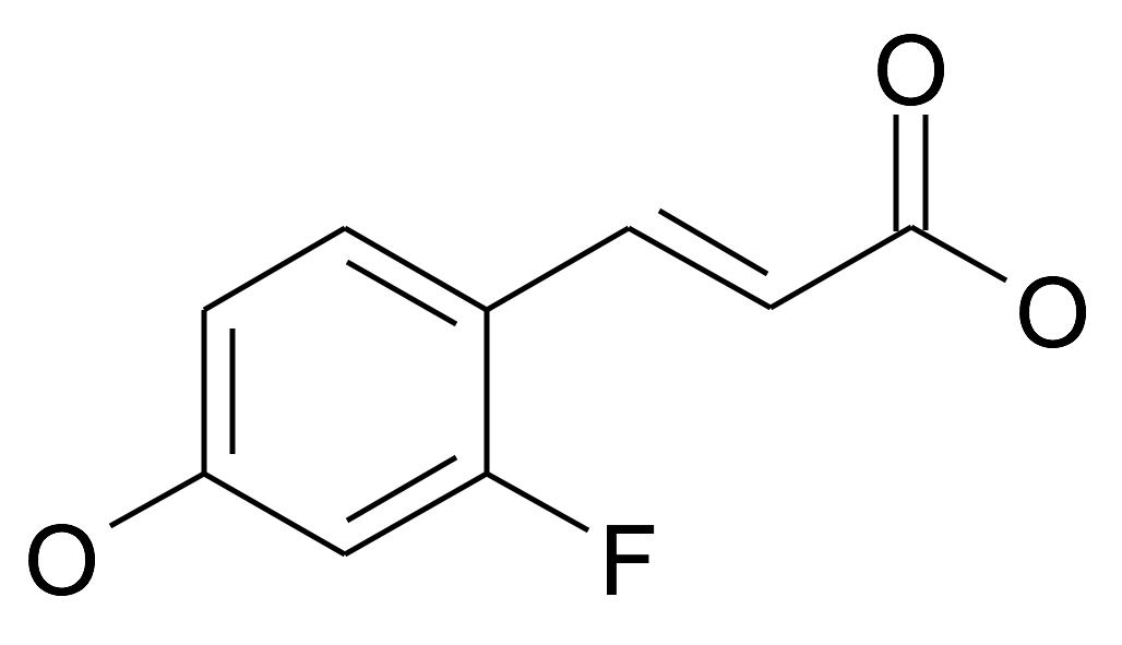 (E)-3-(2-Fluoro-4-hydroxy-phenyl)-acrylic acid
