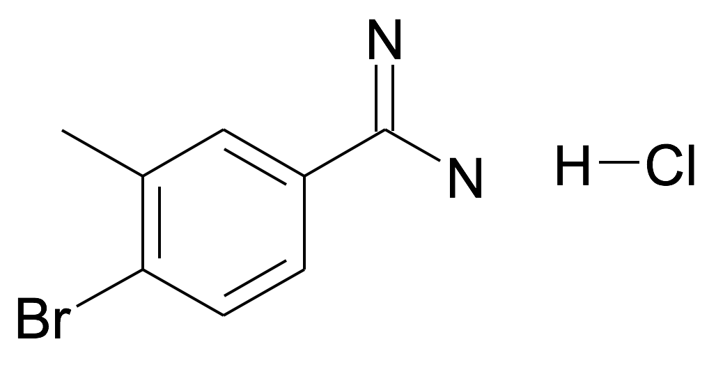 4-Bromo-3-methyl-benzamidine; hydrochloride