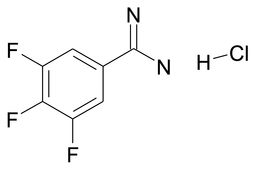 3,4,5-Trifluoro-benzamidine; hydrochloride