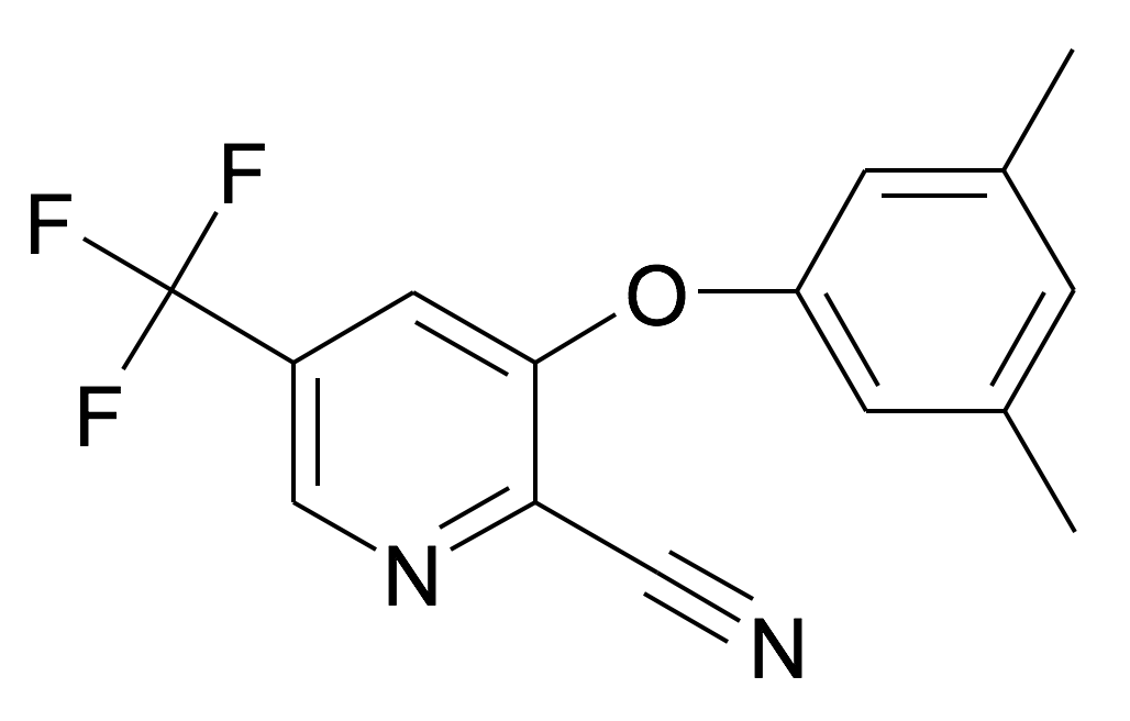 3-(3,5-Dimethyl-phenoxy)-5-trifluoromethyl-pyridine-2-carbonitrile