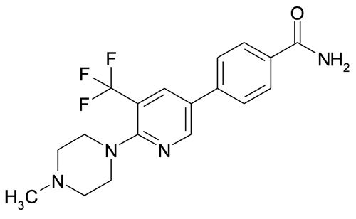 4-[6-(4-Methyl-piperazin-1-yl)-5-trifluoromethyl-pyridin-3-yl]-benzamide