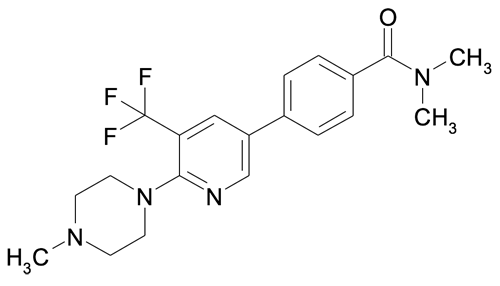 N,N-Dimethyl-4-[6-(4-methyl-piperazin-1-yl)-5-trifluoromethyl-pyridin-3-yl]-benzamide