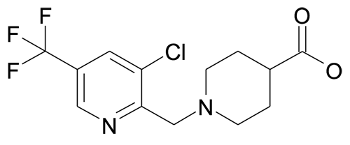| MFCD19981209 | 1-(3-Chloro-5-trifluoromethyl-pyridin-2-ylmethyl)-piperidine-4-carboxylic acid | acints