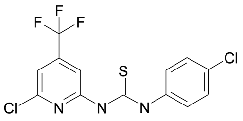 1-(4-Chloro-phenyl)-3-(6-chloro-4-trifluoromethyl-pyridin-2-yl)-thiourea