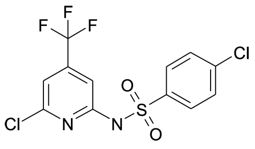 4-Chloro-N-(6-chloro-4-trifluoromethyl-pyridin-2-yl)-benzenesulfonamide