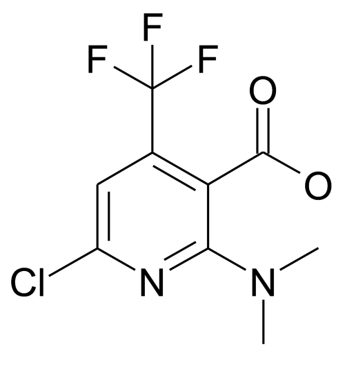 6-Chloro-2-dimethylamino-4-trifluoromethyl-nicotinic acid