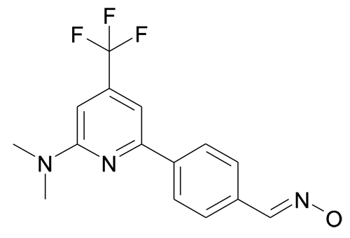 4-(6-Dimethylamino-4-trifluoromethyl-pyridin-2-yl)-benzaldehyde oxime