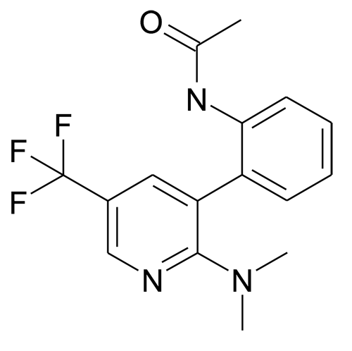 N-[2-(2-Dimethylamino-5-trifluoromethyl-pyridin-3-yl)-phenyl]-acetamide