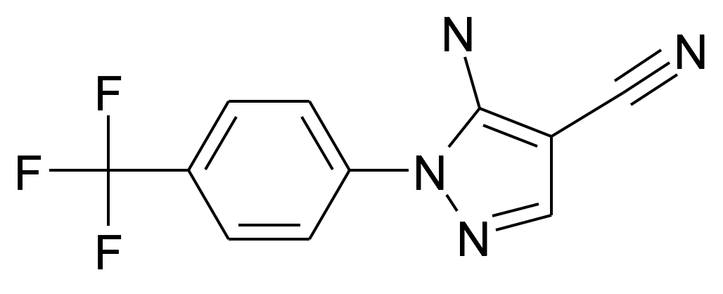 5-Amino-1-(4-trifluoromethyl-phenyl)-1H-pyrazole-4-carbonitrile