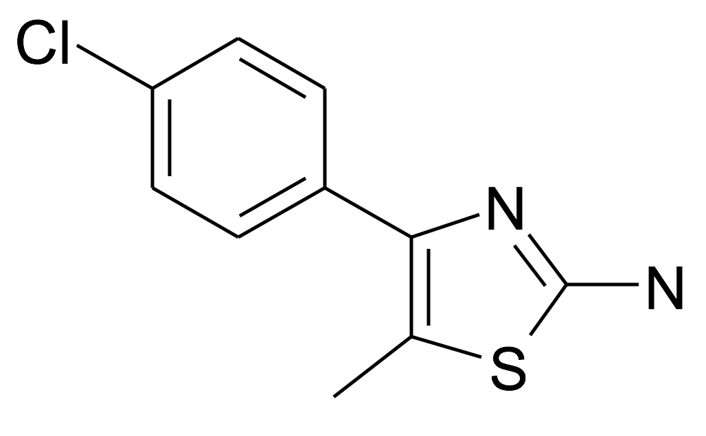 4-(4-Chloro-phenyl)-5-methyl-thiazol-2-ylamine