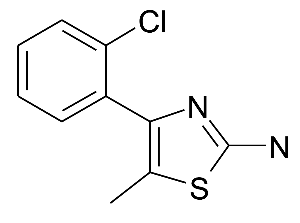 4-(2-Chloro-phenyl)-5-methyl-thiazol-2-ylamine