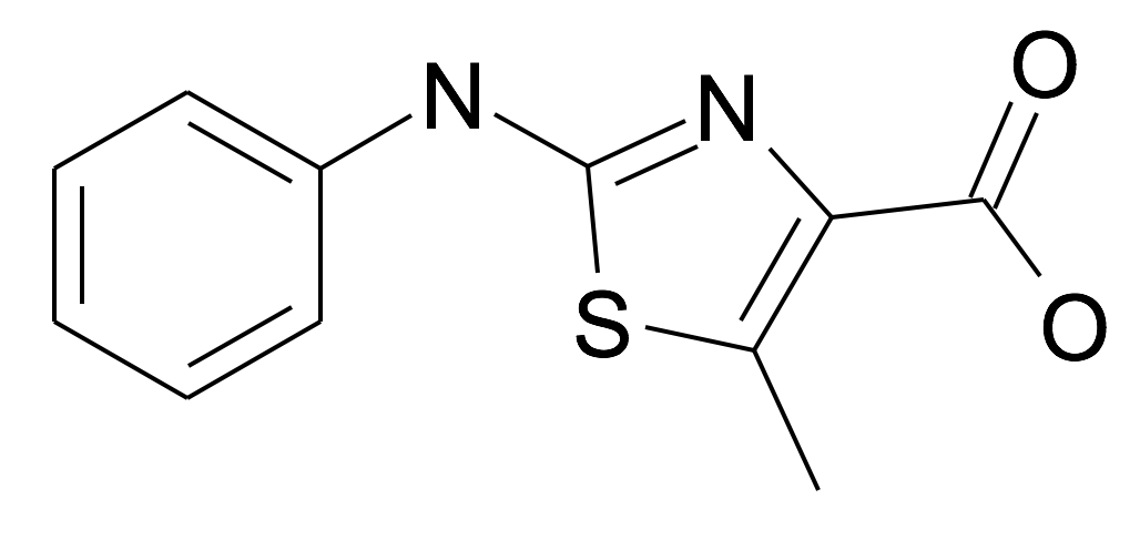 5-Methyl-2-phenylamino-thiazole-4-carboxylic acid