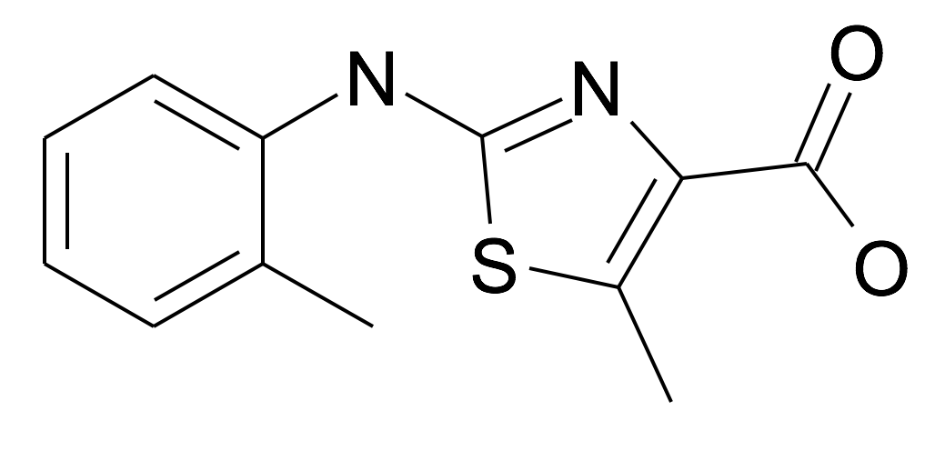 5-Methyl-2-o-tolylamino-thiazole-4-carboxylic acid