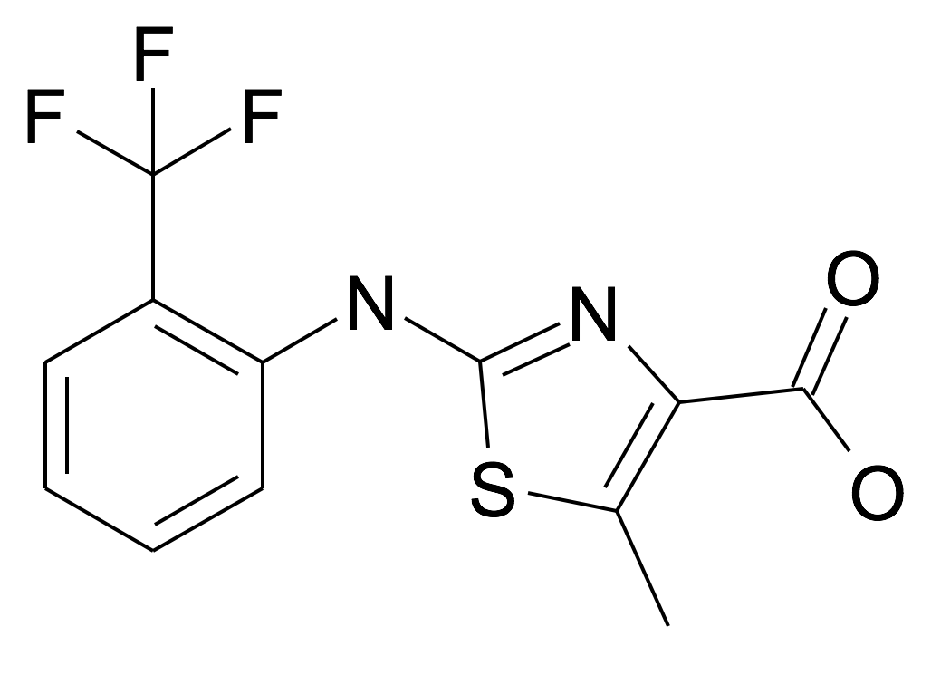 5-Methyl-2-(2-trifluoromethyl-phenylamino)-thiazole-4-carboxylic acid