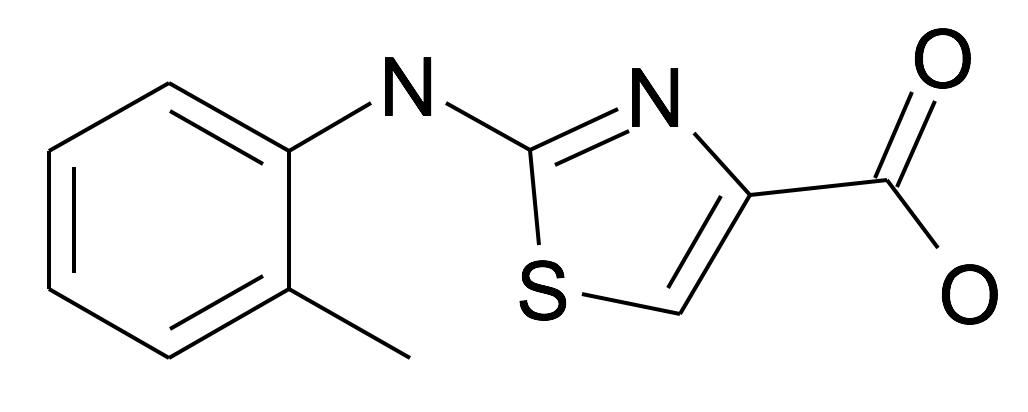 2-o-Tolylamino-thiazole-4-carboxylic acid