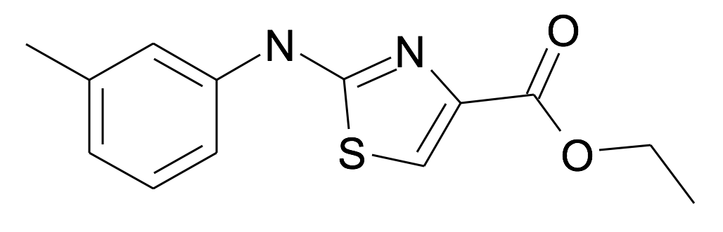 2-m-Tolylamino-thiazole-4-carboxylic acid ethyl ester