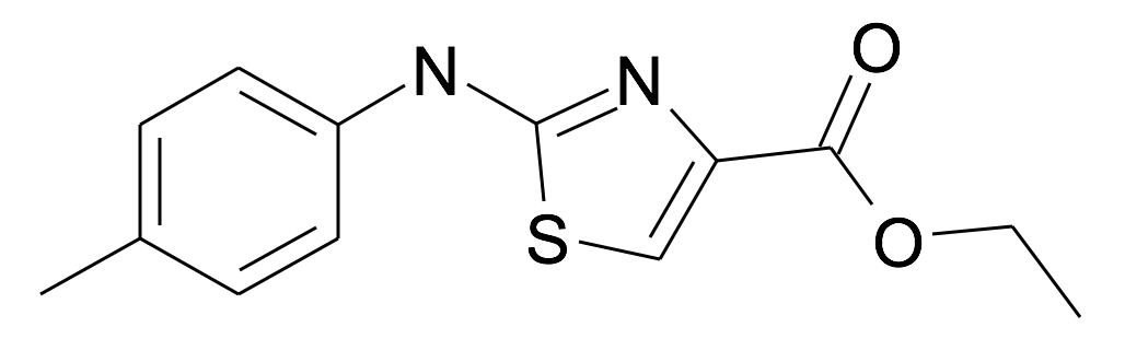 2-p-Tolylamino-thiazole-4-carboxylic acid ethyl ester