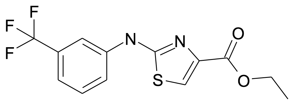 2-(3-Trifluoromethyl-phenylamino)-thiazole-4-carboxylic acid ethyl ester
