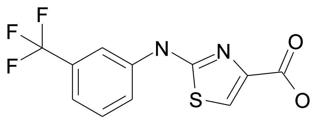2-(3-Trifluoromethyl-phenylamino)-thiazole-4-carboxylic acid