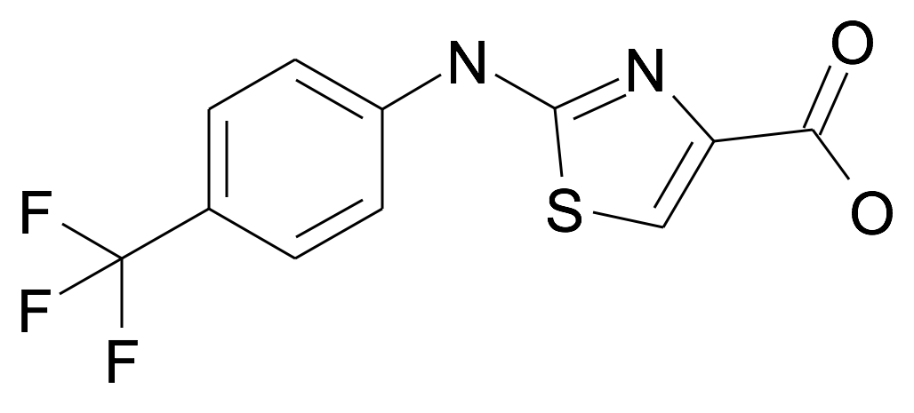 2-(4-Trifluoromethyl-phenylamino)-thiazole-4-carboxylic acid