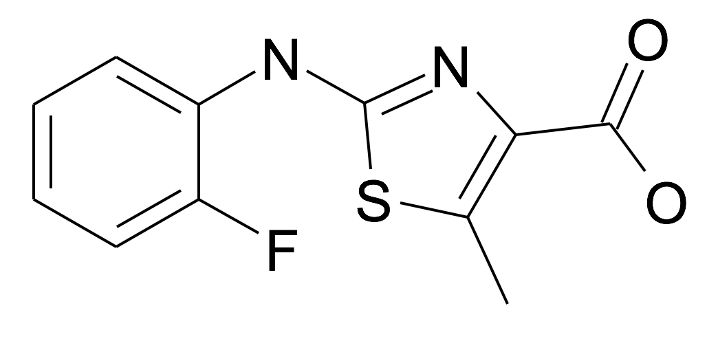 2-(2-Fluoro-phenylamino)-5-methyl-thiazole-4-carboxylic acid