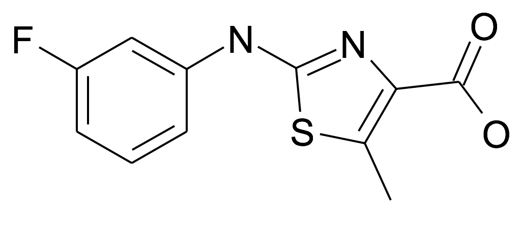| MFCD25202222 | 2-(3-Fluoro-phenylamino)-5-methyl-thiazole-4-carboxylic acid | acints
