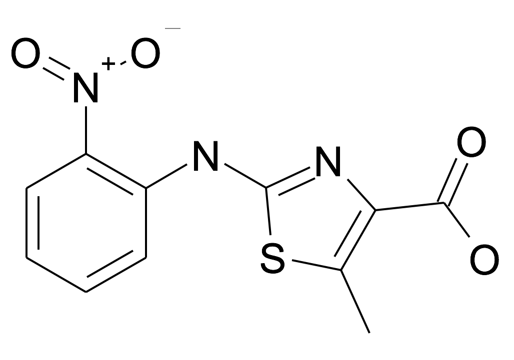 5-Methyl-2-(2-nitro-phenylamino)-thiazole-4-carboxylic acid