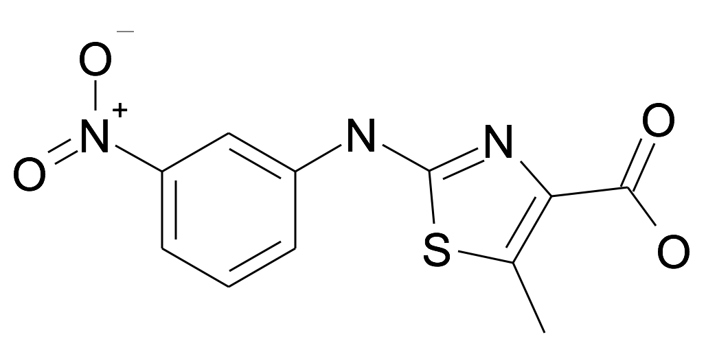 5-Methyl-2-(3-nitro-phenylamino)-thiazole-4-carboxylic acid