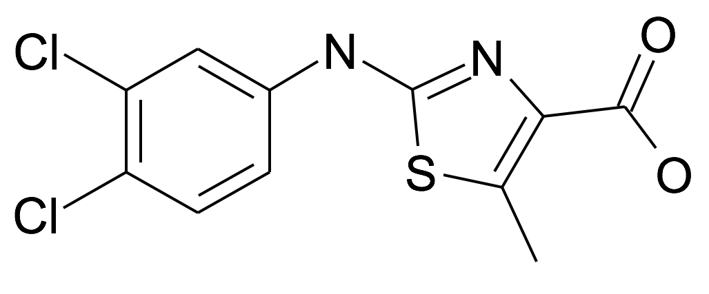 | MFCD25694211 | 2-(3,4-Dichloro-phenylamino)-5-methyl-thiazole-4-carboxylic acid | acints