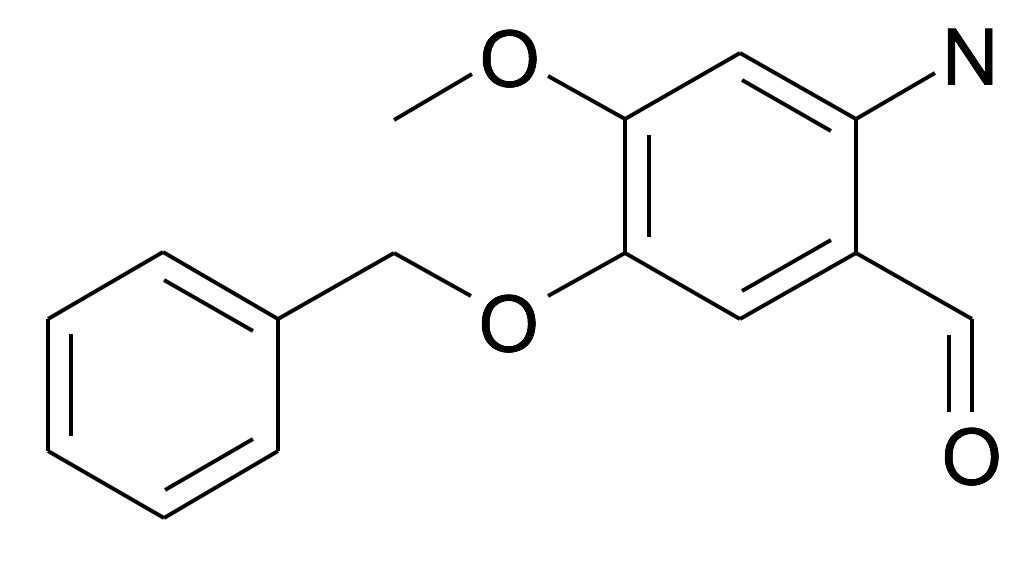 2-Amino-5-benzyloxy-4-methoxy-benzaldehyde