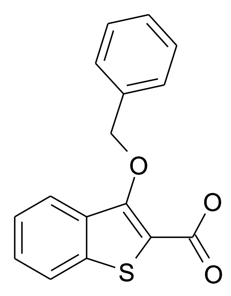 3-Benzyloxy-benzo[b]thiophene-2-carboxylic acid