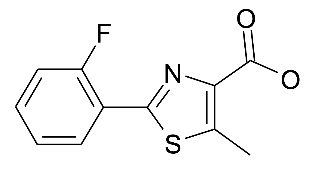 | MFCD10007660 | 2-(2-Fluoro-phenyl)-5-methyl-thiazole-4-carboxylic acid | acints