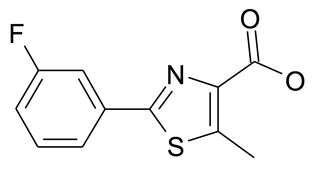 | MFCD21891773 | 2-(3-Fluoro-phenyl)-5-methyl-thiazole-4-carboxylic acid | acints